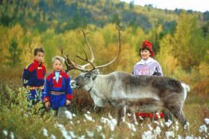 Sami family. Photo credit www.nordnorge.com