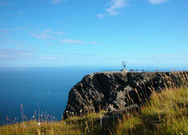 The North Cape cliff. Photo by Beate Juliussen, Nordnorsk Reiseliv