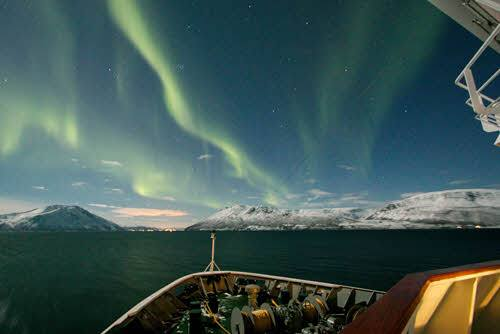Christmas Cruise in Norway by Andrew Garlick, Hurtigruten