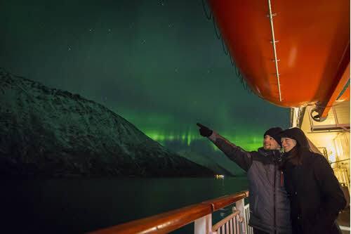 Cruise in Norway by Orjan Bertelsen, Hurtigruten