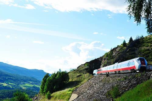 Dovre Railway by Torje Bjorback, NSB