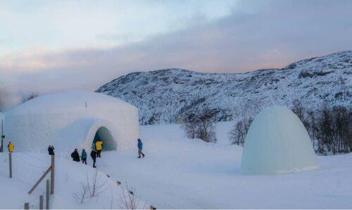 Entrance To Snow Hotel Kirkenes By Kirkenes Snow Hotel
