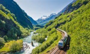 Flam Railway by Sverre Hjornevik, Flam AS
