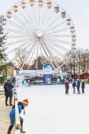 Ice skating in Oslo by Didrick Stenersen, Visit Oslo