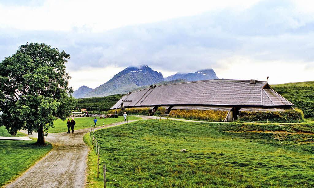 Meet the Vikings on Lofoten Islands by Stein J. Bjorge, Hurtigruten