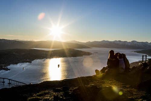 Midnight sun in Tromso by Christian Roth Christensen, Visit Norway