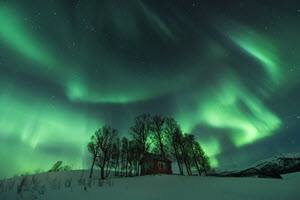 Northern Lights by Stian Klo, Hurtigruten