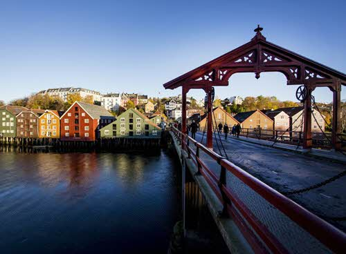 Old bridge in Trondheim by Jan Ove Iversen, Visit Trondheim