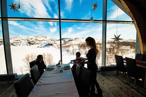 Restaurant at Kirkenes Snowhotel by Kirkenes Snowhotel