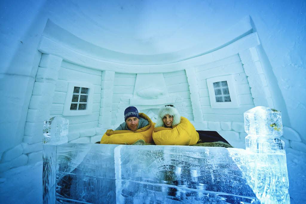 Room at Snowhotel by Kirkenes Snowhotel