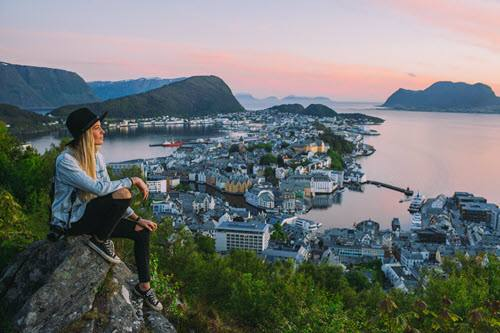 View of Alesund by Samuel Taipale, Visit Norway