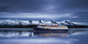 Winter on the Norwegian Coast by Havila Voyages