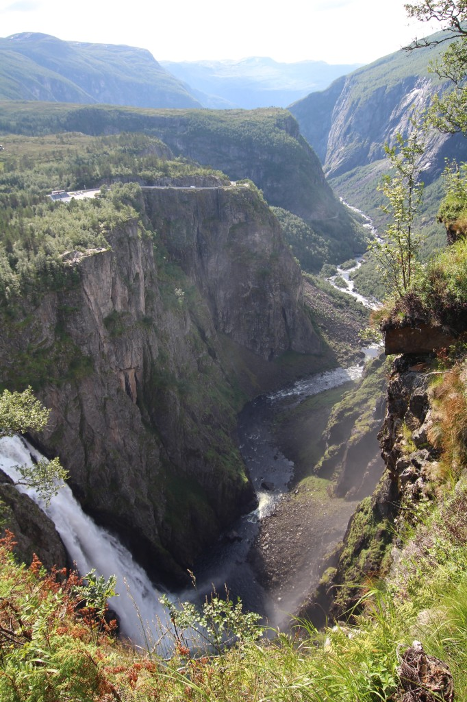 Voringfoss waterfall and Maabodal canyon. Photo by Rita de Lange, Fjord Travel Norway