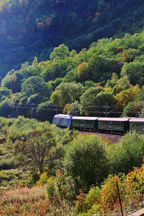 Flam Railway in autumn. Photo by Rita de Lange, Fjord Travel Norway