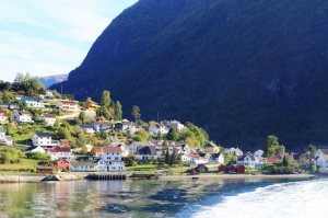 Sognefjord, Aurland village. Photo by Rita de Lange, Fjord Travel Norway