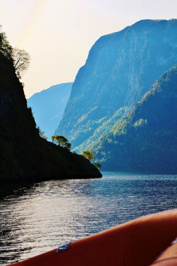 Sognefjord - the entrance to the Unesco Naeroyfjord. Photo by Rita de Lange, Fjord Travel Norway