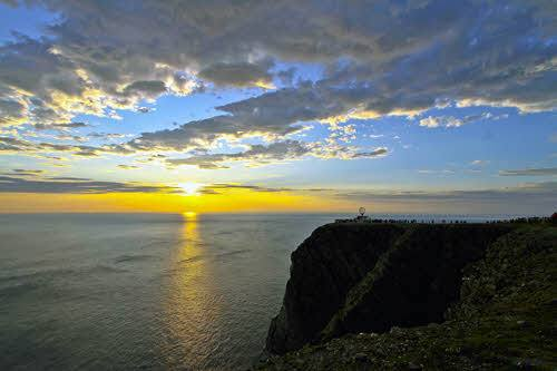The North Cape cliff, Norway. Photo by Filip Hoel, Hurtigruten