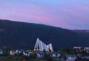 The Arctic cathedral Tromso. Photo by Rita de Lange, Fjord Travel Norway