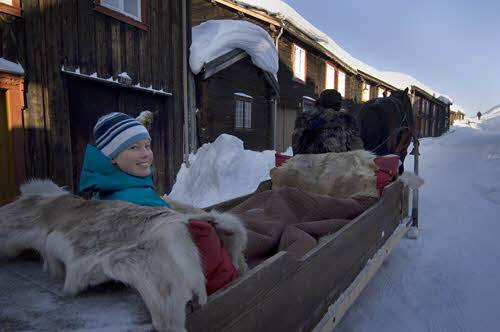 Horse and sleigh ride by Terje Rakke, Nordic Life, Visit Norway