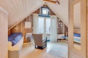 Room at Kongsfjord Guesthouse by Orjan Bertelsen, Hurtigruten