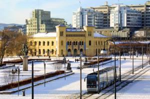 Winter in Oslo. Photo by Gunnar Strom, visitOslo