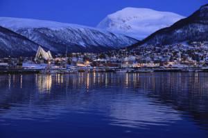 Arctic light in Tromso
