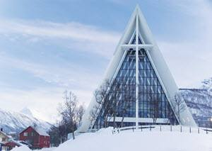 Arctic Cathedral Tromso by Dennis Price, Hurtigruten