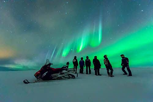 Experience the magic of the Northern Lights by Orjan Bertelsen, Hurtigruten