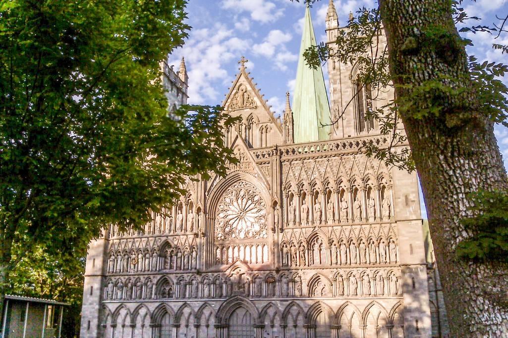 Trondheim Norway, Nidarosdomen cathedral. Photo by Rita de Lange, Fjord Travel Norway