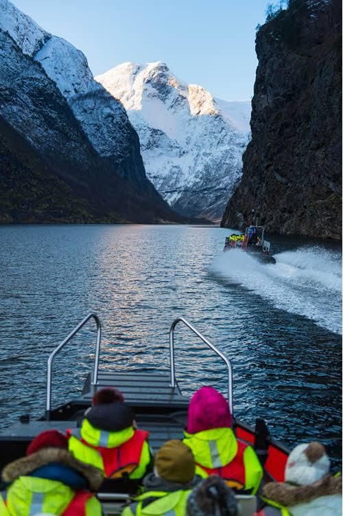 Winter Fjord Safari by Sverre Hjornevik, Fjord Norway