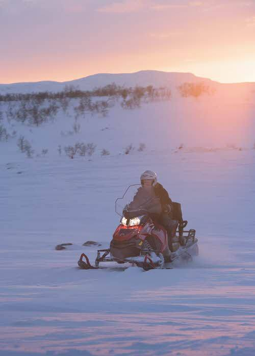 Snowmobile Alta by CH, Visit Norway