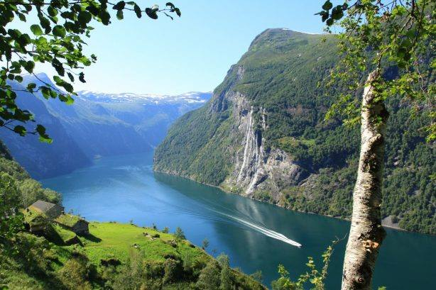 Geirangerfjord by Paul Emundson, Fjord Norway