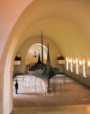 Viking ship museum in Oslo - Gokstadskipet-Photo credits Vikingskipsmuseet-Bygdoy