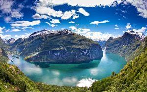 Geirangerfjord by Per Ottar Walderhaug, Fjord Norway