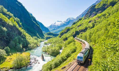 Experience the Flam Railway by Sverre Hjornevik, Flam AS