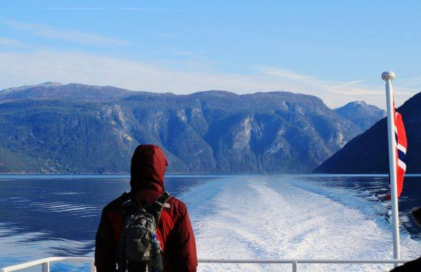 Fjord cruise on the Sognefjord. Photo by Rita de Lange, Fjord Travel Norway