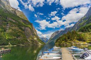 Naeroyfjord by Girish Chouhan, Visit Bergen
