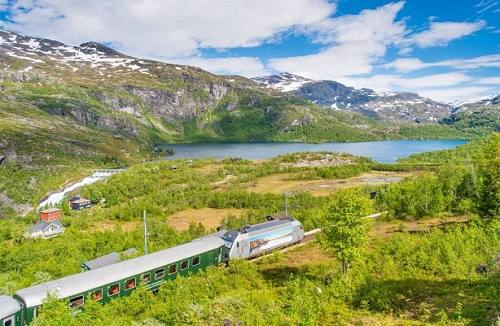 Scenic Flam Railway by Sverre Hjørnevik, Flam AS