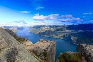 Lysefjord by Paul Edmundson, Fjord Norway
