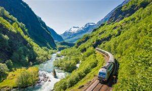 Flam Railway by Sverre Hjornevik, Flam AS