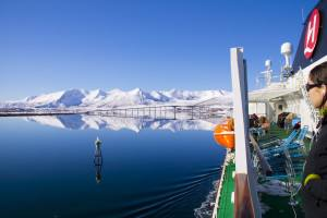 Hurtigruten Winter cruise, Risoyrenna. Photo by Winfried Rosen, Hurtigruten