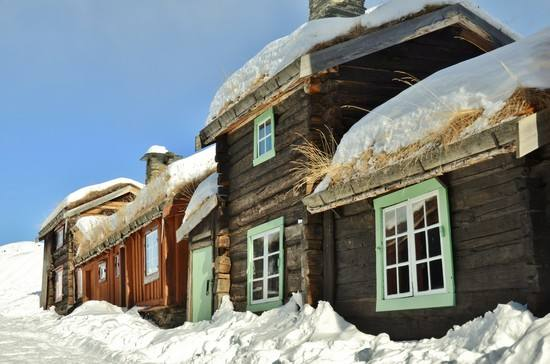 Traditional Houses Roros by Finn Nilsen, Visit Roros