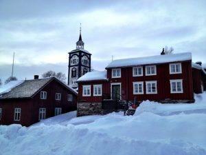 Roros in winter by Bard Svendsen, Trondelag Reiseliv