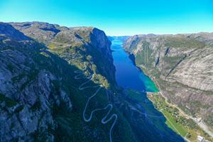 Lysefjord by Paul Edmundson, Fjord Norway