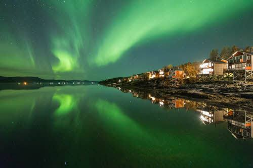 Northern Lights close to Malangen Resort by Malangen Resort