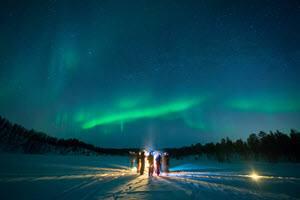 Northern Lights watch by Malangen Resort