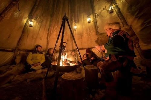 Sami Storytelling by Malangen Resort