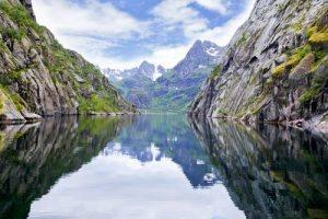 Trollfjord by Vidar Hoel, Hurtigruten