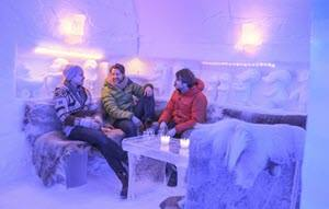 Ice bar by CH, Visit Norway