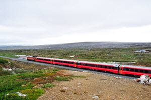 Arctic Nordland Railway by Tore Bjorback, NSB